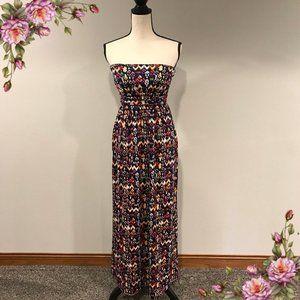MAKE AN OFFER ;) Strapless maxi dress.